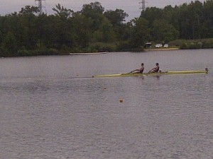 Coxed Pair pwning the other team by 48 seconds in the final....